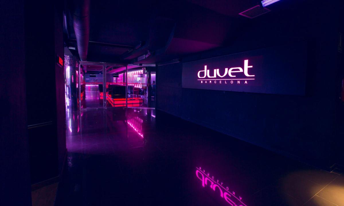 Duvet Club Barcelona entrada